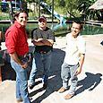 El Equipo de Ecología de Muzquiz - Foto Luis Miranda