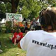 Tagging en el Discovery Gardens - Foto Vico Gutiérrez
