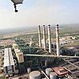 Termoeléctrica de camino a Muzquiz - Foto Vico Gutiérrez
