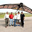 Llegada a México e inspección aduanal - Foto Luis Miranda
