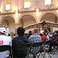 Papalotzin en el Palacio Clavijero en Morelia
