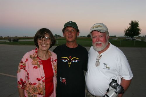 Chip Taylor y su esposa, Tony Taylor - Foto Luis Miranda
