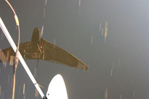 Reflejo del Papalotzin sobre el agua - Foto Luis Miranda