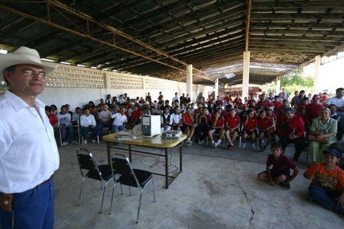 Evento con escuelas en Muzquiz - Foto Luis Miranda