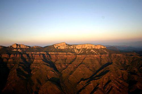 Una de las Fascinantes Sierras de la Reserva - Foto Vico Gutiérrez