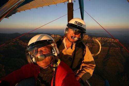 Vico y Billy Pat en un Atardecer Fantástico - Foto Vico Gutiérrez