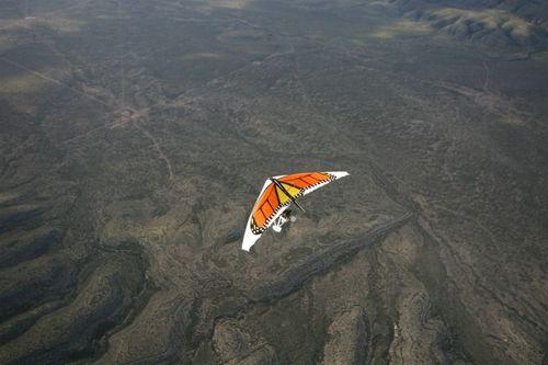 Volando la Reserva - Foto Luis Miranda