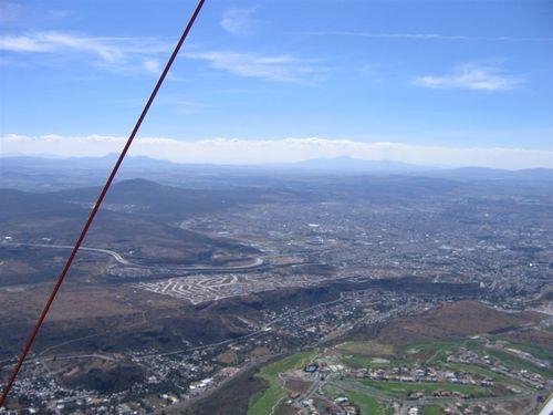 Querétaro visto a 10,000 pies de altura SNM - Foto Daniel Levy