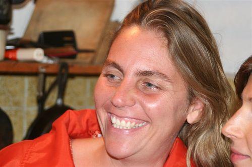Veronika nuestra anfitriona en San Miguel - Foto Luis Miranda