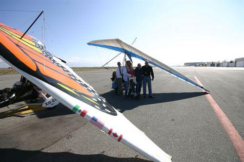 Papalotzin y el Avión Camara en Saltillo - Foto Luis Miranda