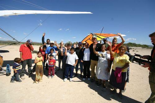 Ranchería el Tajo en el Desierto - Foto Luis Miranda
