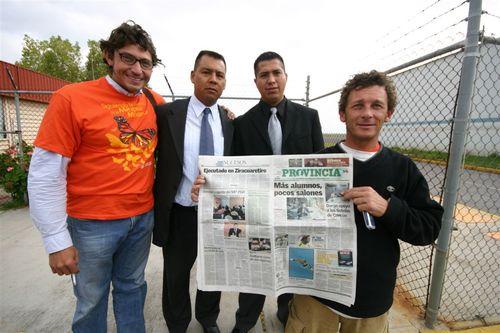Seguidores del Proyecto en S.L.P. - Foto Greg Allen