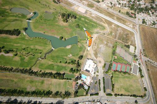 Papalotzin sobre Campo de Golf - Foto Vico Gutiérrez
