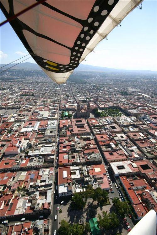 Morelia desde el aire