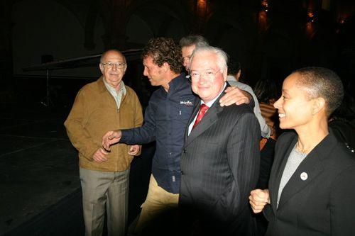 Nos recibió Maira de Cárdenas y el Secretario de Turismo