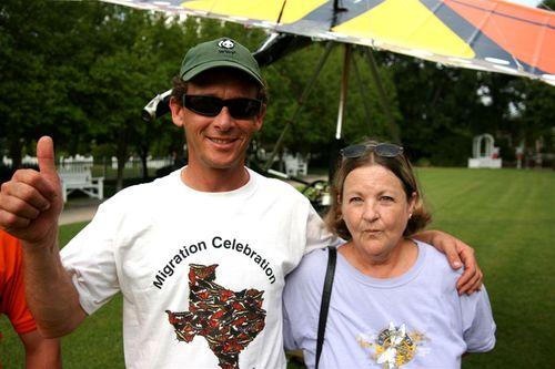 Linda Rogers y Vico - Foto Luis Miranda