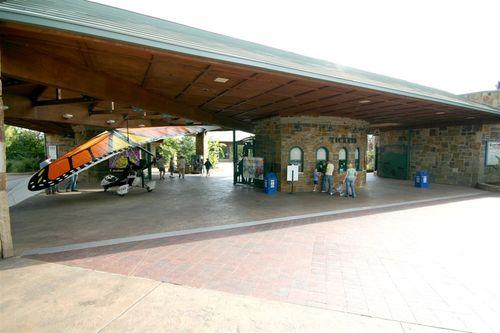 Papalotzin a la entrada del Zoo - Foto Vico Gutiérrez