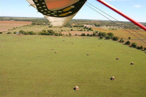 Volando hacia Emporia, KS - Foto Luis Miranda